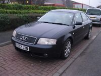 Audi A6 2.7t Sport Quattro Auto Saloon 4wd Twin Turbo in use daily Spares or Repairs