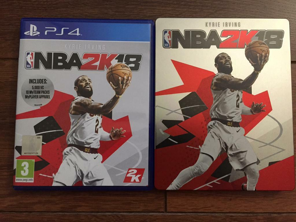 NBA 2K18 - PS4 includes limited edition steel case and unused code