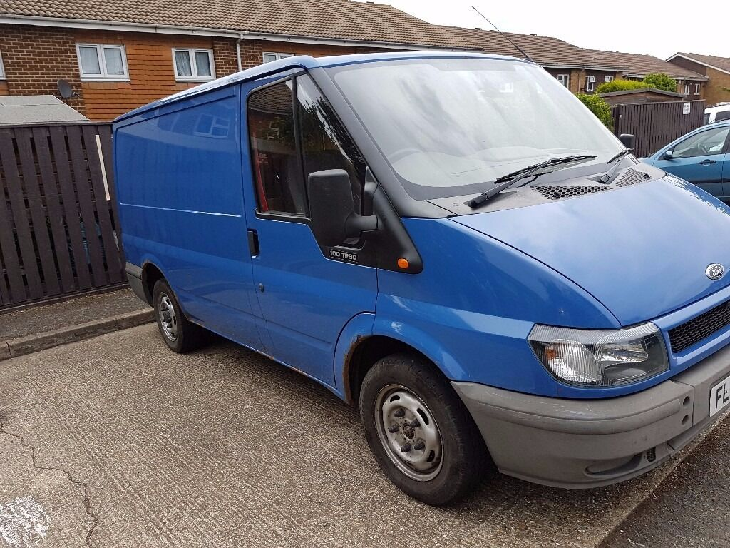 2006 ford transit 280 swb 100 blue low mileage full roof rack great
