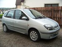 Renault Scenic 1.9dci Diesel,,Full Years MOT,Towbar,Alloys,Airbags,Good Condition