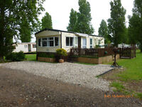 Off grid Static caravan on holiday park, August 2017 only. IDEAL CAMPERS