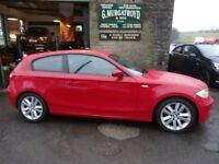 BMW 1 SERIES 2.0 118d ES 3dr /upgrade seats £5,999
