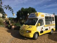Ford Transit Super Whippy Ice cream Van. Carpigiani Ice cream machine 69000 miles Very reliable!!