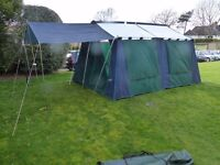 Self-supporting 8 manTent