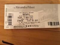 Two Underworld tickets