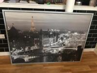 Framed photo print of Paris