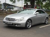 MERCEDES CLS 320 CDi 2007(07 REG)**SAT NAV*DVD PLAYER*FULL HISTORY*12 MONTHS MOT*PX WELCOME*DELIVERY