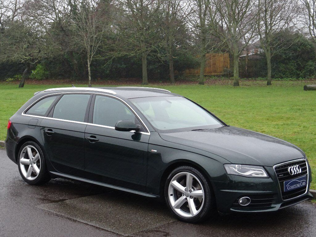 2009 audi a4 avant 3 0 tdi s line tiptronic quattro 5dr estate full heated leather in. Black Bedroom Furniture Sets. Home Design Ideas