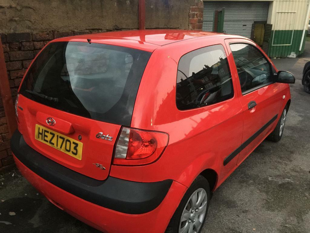 2006 Hyundai Getz 1.1 plenty mot great runner
