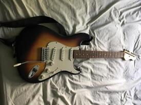 Encore Electric Guitar with small Amplifier