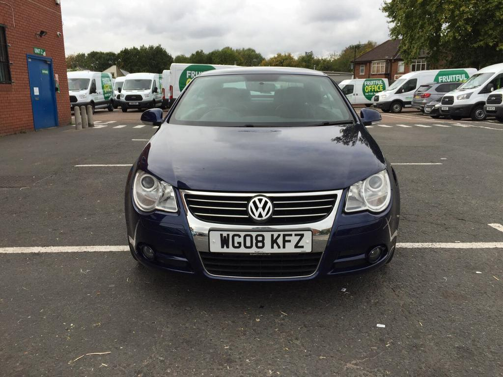 Volkswagen EOS 2008 diesel full service history automatic 2 L