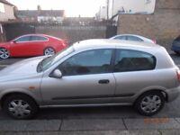 Nissan Almera 1.5 2004 - MOT/Tax/Low Millage - Cheap, Good Condition!