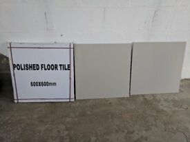 Ceramic tile  grade AAA  600X600X10 £15 Sqm