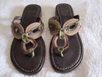 Clarks Ladies Sandals, size 4