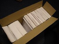 Box of 100 White Bubble Lined Mailing Envelopes 245mm x 180mm