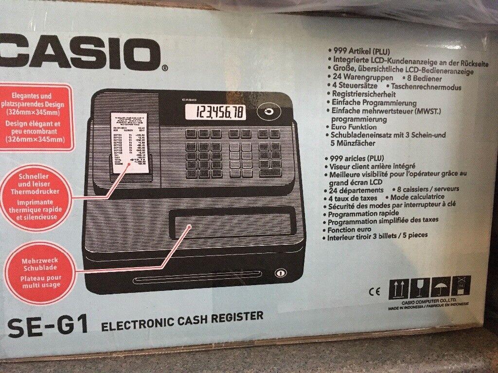 Casio till brand new un used!!!