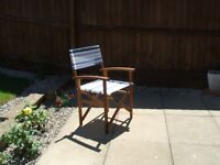 Garden chair...executive style....john lewis brand...hardly used