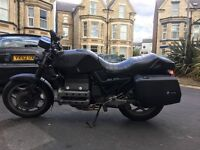85 BMW K100 Cafe Racer project (needs battery and gear lever)