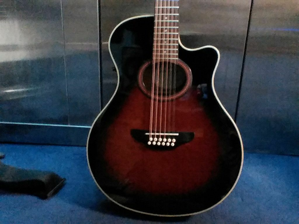Yamaha apx 4 12 string electro acoustic guitar in for Apx guitar yamaha