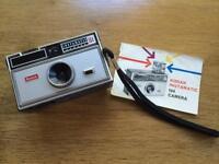 Kodak instamatic camera.