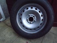 RENAULT TRAFIC --VIVARO -PRIMASTAR WHEEL AND TYRE