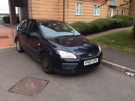 Ford Focus 1.6 diesel starts and drives fine some unrecorded damage but cheap car Not van