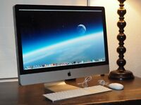 "Excellent 27"" Apple iMac 2.7GHz i5 quad core 16GB RAM 1TB HDD - A1312 (Mid 2011)"