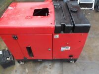 Clarke power 6,5kVA Diesel Generator
