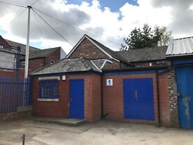 Good Quality Office & Store 600 sq. ft. Immediate Occupation on Secure Industrial Estate