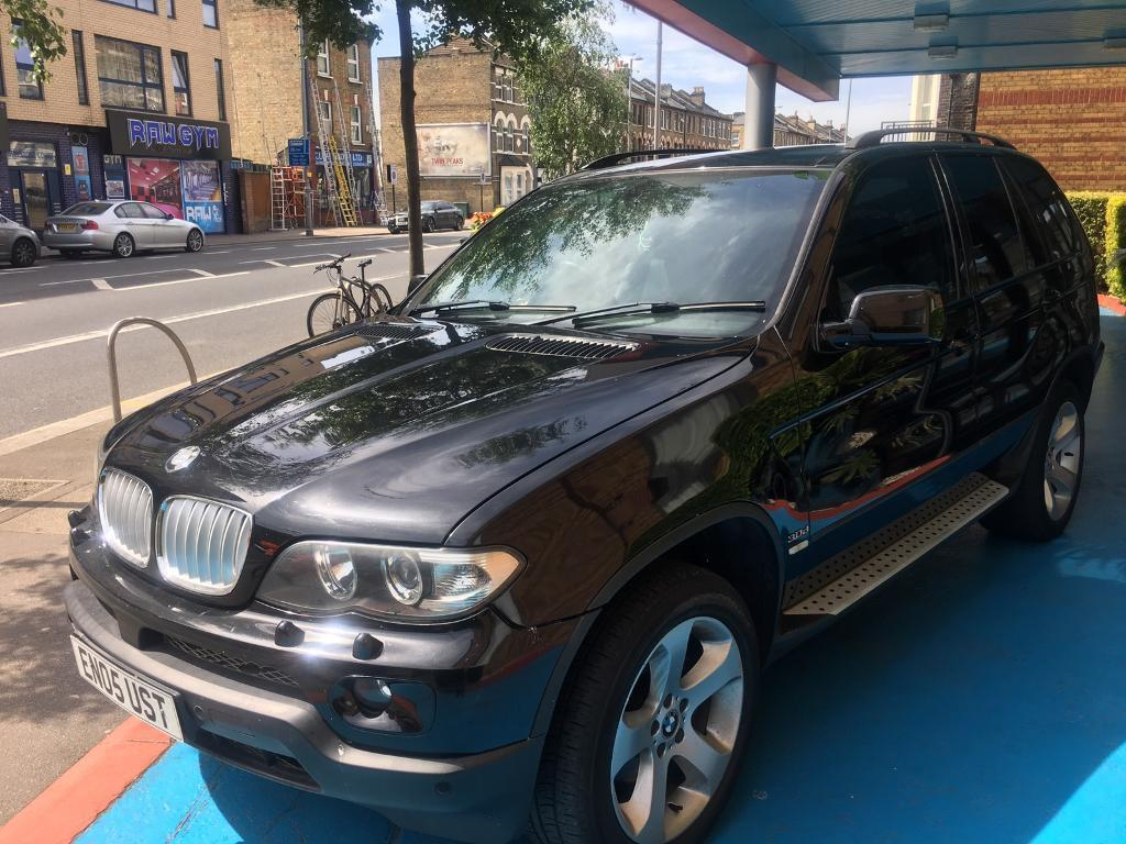 BMW X5 3.0 d automatic sport box fsh 2005 leather side steps alloys with full mot