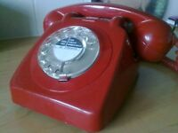 ORIGINAL RED TELEPHONE 1960S