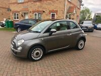 2011 FIAT 500 LOUNGE 1.2, MOT 12 MONTHS,SERVICE HISTORY, £20 TAX, HPI CLEAR