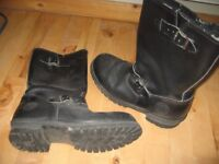 Rock`n roll / Motorcycle style long boots
