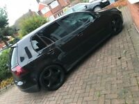VW mk5 Golf GT tdi (140) Black