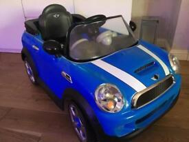 Electric Mini Cooper
