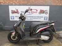HONDA PS 125cc BLACK COLOUR EXCELLENT CONDITION MODEL 2008