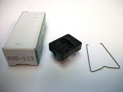 Nte Relay Socket R95-103 - 10pin Blade Socket - Panel Mount - Solder Terminals