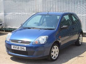 2008 (58 reg), Ford Fiesta 1.25 Style 3dr, Very Low Mileage
