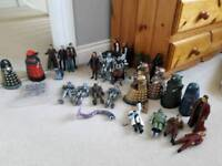 Doctor who action figure job lot