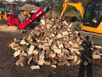 Quality dry stored seasoned logs, free delivery