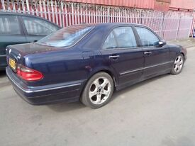 BREAKING MERCEDES E CLASS 300TD - ALL SPARES AVAILBLE - DOOR? ENGINE? HUB? AXLE? GEARBOX?