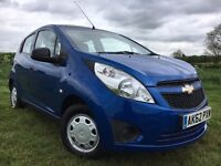 2012 CHEVROLET SPARK 1.0 PETROL 12 MONTHS MOT SERVICE HISTORY 58,000 MILES ONLY £30 A YEAR TAX
