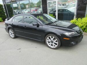 2006 Mazda 6 SPORTY 5-SPEED WITH LEATHER