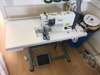 Twin needle industrial sewing machine (Texi)