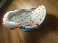 Baby bath seat like new
