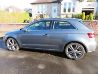 Audi 2013 A3 2.0 TDI SPORT - VERY HIGH SPEC - only 36000 miles, Leather interior, Xenon headlights