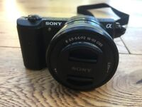 Sony Alpha 5100 Camera in perfect condition with accessories