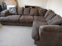 DFS corner sofa, almost new condition, barely used, £270