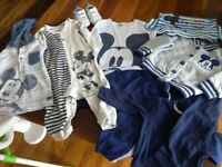"""Baby clothes """"Mickey mouse"""" bundle 9-12 months"""