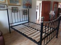 Beautiful very sturdy double bed. I can also arrange delivery if required